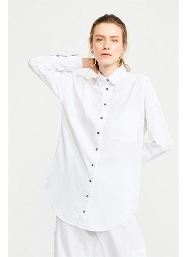 Just like you Gömlek Beyaz